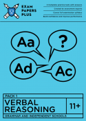 11+ Verbal Reasoning practice papers for grammar schools