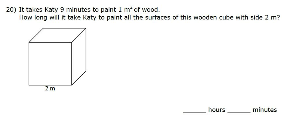 eleven plus maths past question