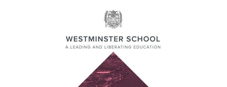 Screenshot of Westminster Under School website