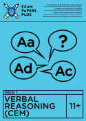 11+ Verbal Reasoning exercises for CEM format exams