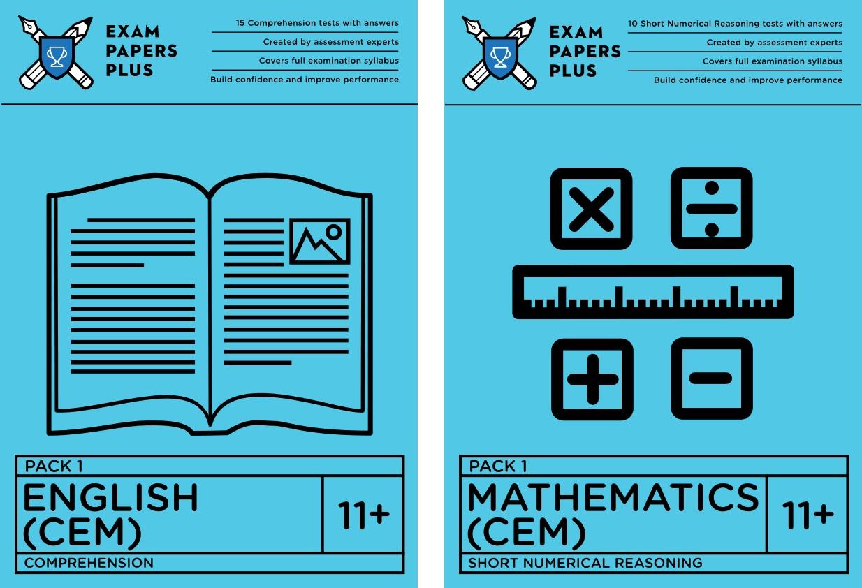 CEM 11 Plus (11+) Practice Exam Papers - BUY NOW!