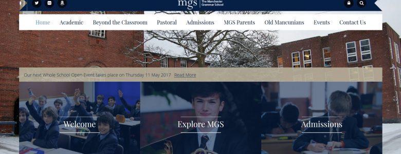 Screenshot of Manchester Grammar School