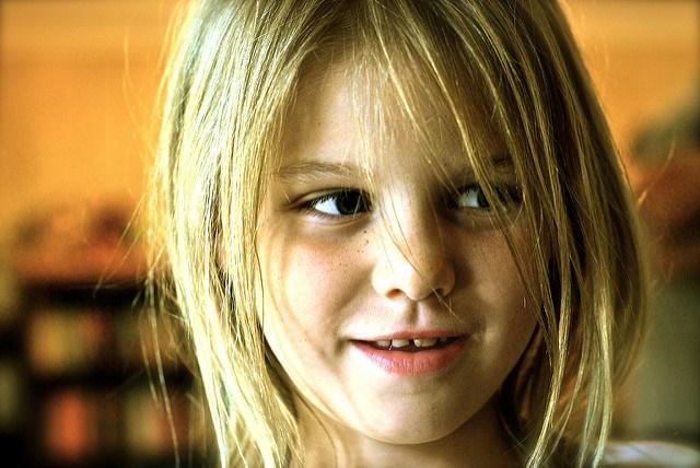 Headshot of a school girl