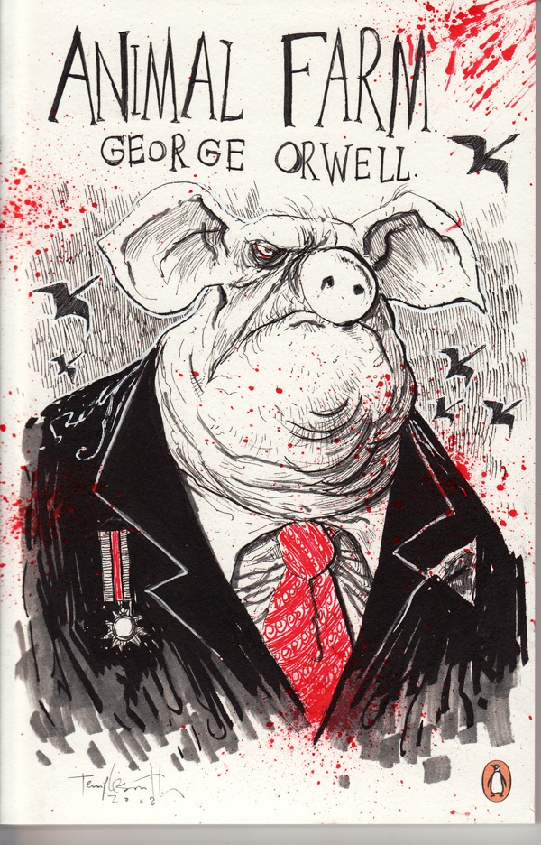 Animal Farm book by George Orwell