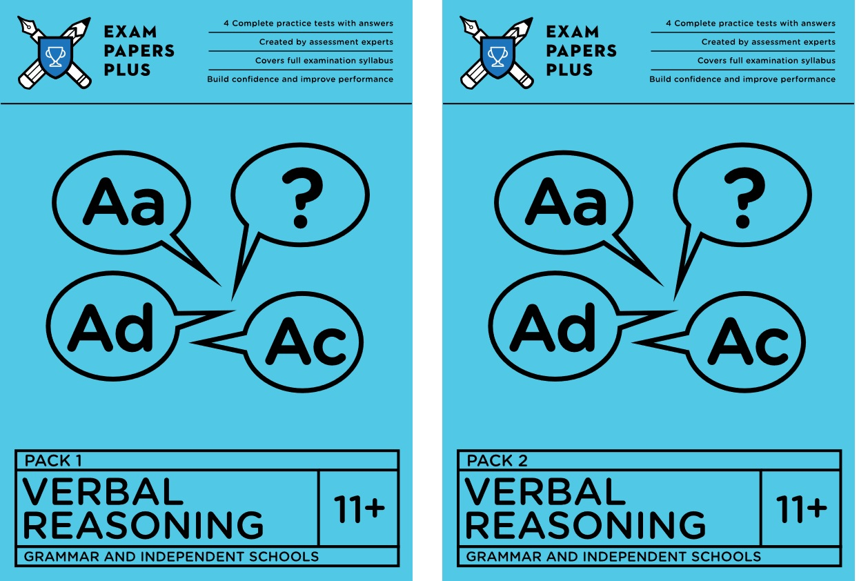 Exam Papers Plus verbal reasoning tests