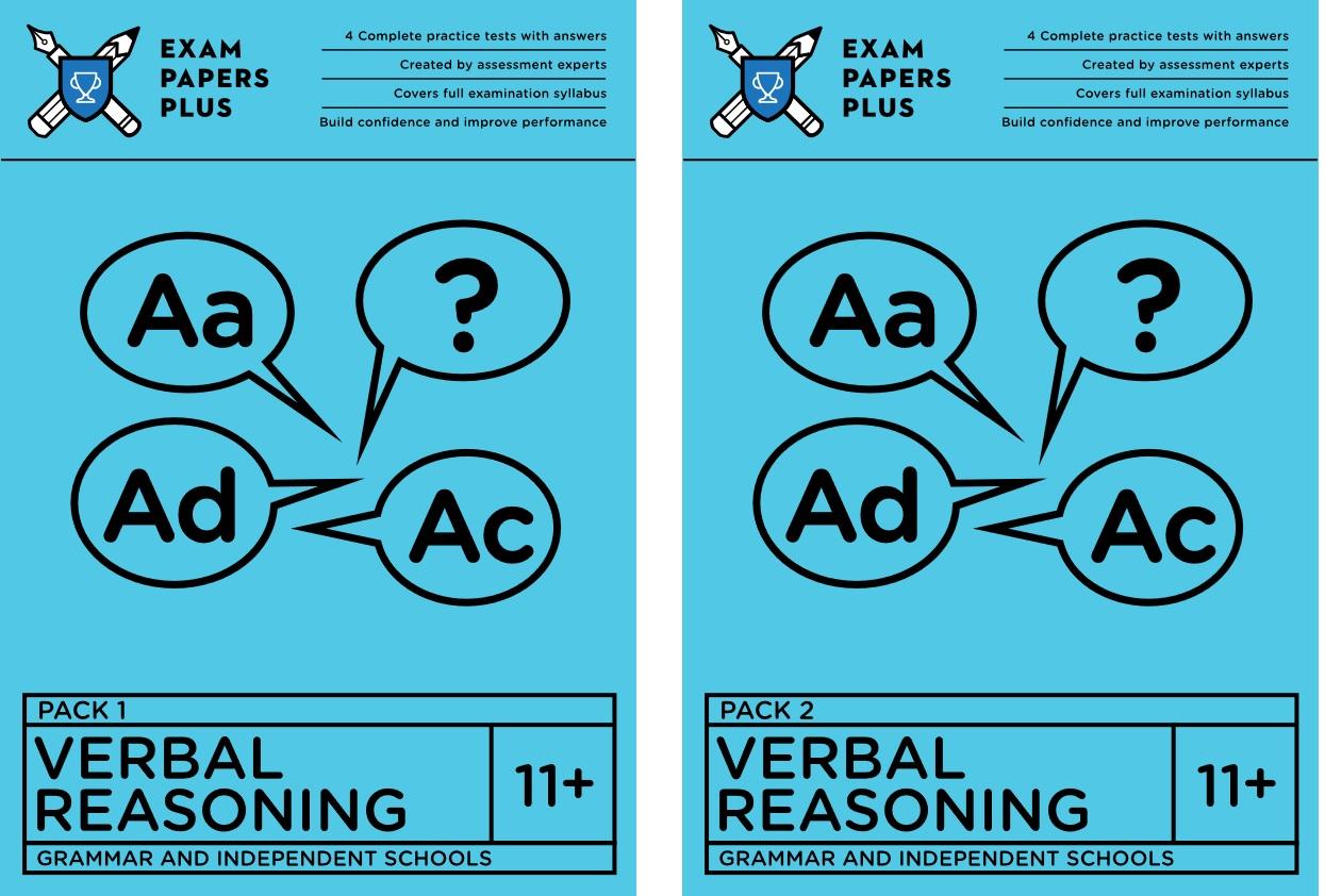Exam Papers Plus verbal reasoning tests