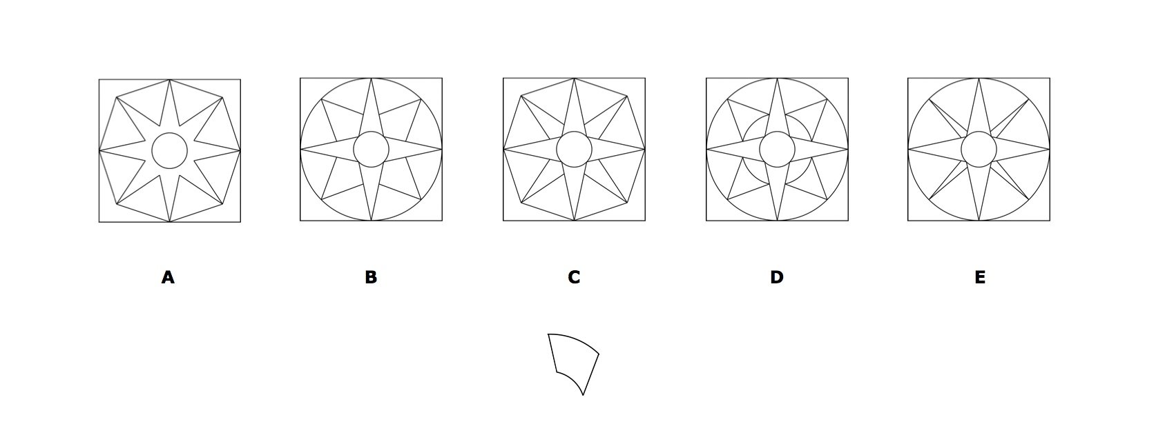 11+ Kent Spatial Reasoning Sample Question