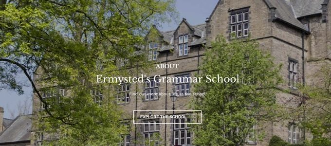 Ermysted's Grammar School website
