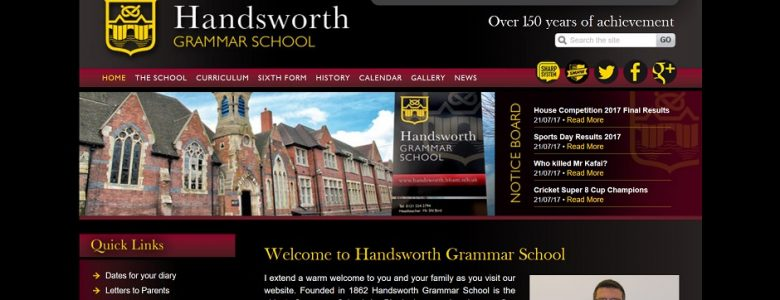 Handsworth Grammar School for Boys 11 Plus (11+) Exam Information