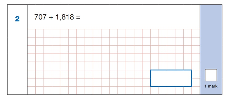 Maths SATs Sample Q1