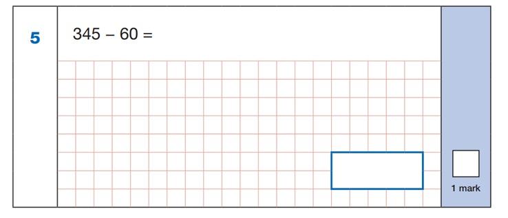 Maths SATs Sample Q2