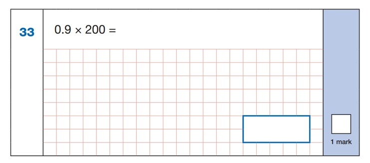Maths SATs Sample Q5