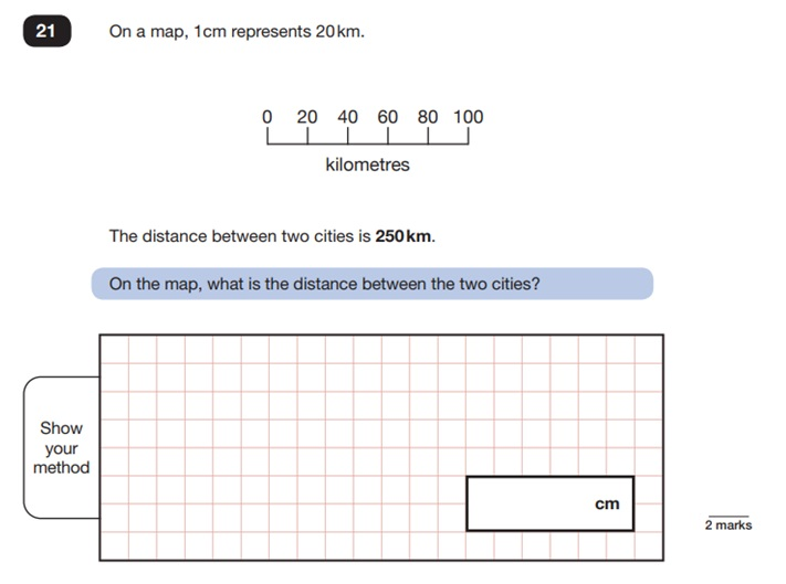 Maths Sample SATs Question