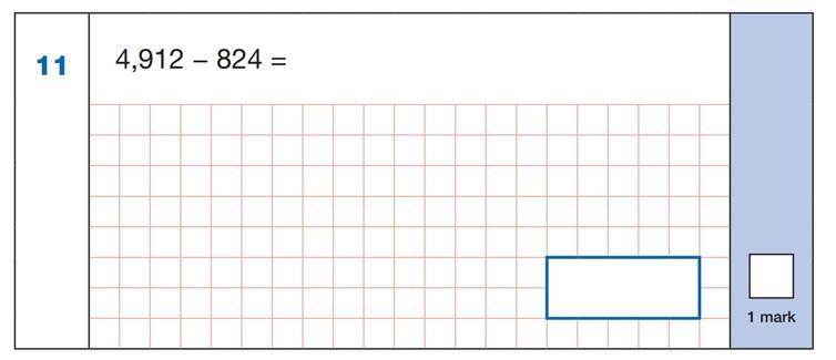 SATs Mental Maths Sample Question 4
