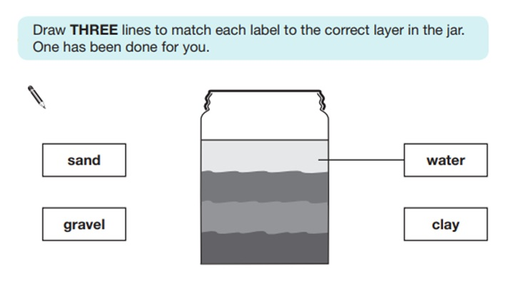 KS2 SAT Science Sample Question 5