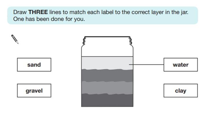 KS2 SAT Science Sample Question 5
