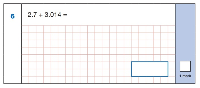 SATs Arithmetic Question 2