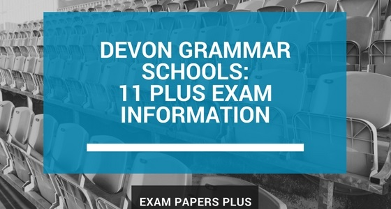 Branded image for Devon Grammar Schools 11 Plus (11+) Exam Information