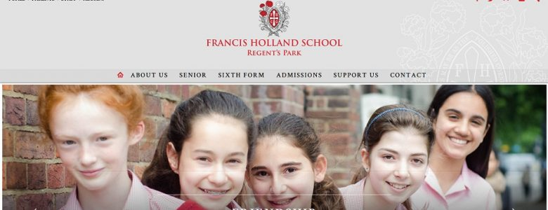 screenshot of Francis Holland School NW1