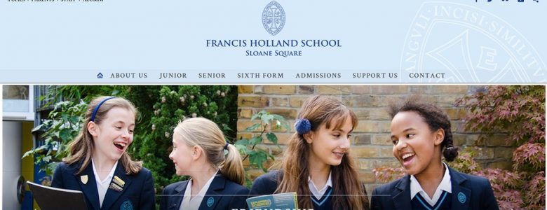 screenshot of Francis Holland School SW1