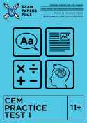 best resources for preparation for CEM 11 plus exams