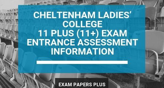 Exam Papers Plus branded image for Cheltenham Ladies' College 11 Plus (11+) Exam Entrance Assessment Information