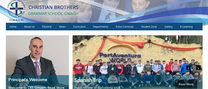 Screenshot of Christian Brothers' Grammar School
