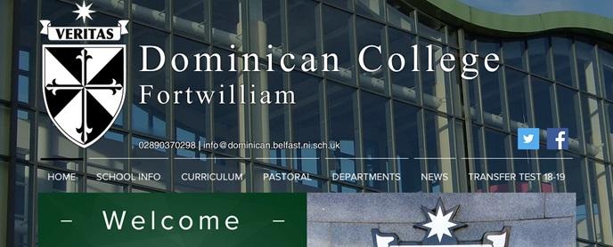 Dominican College Belfast PPTC Transfer Test (11 Plus) Information