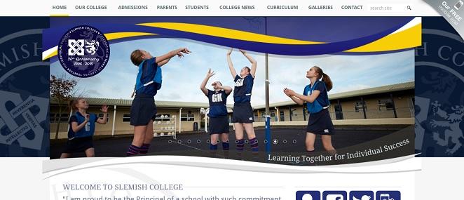 Screensho of Slemish College