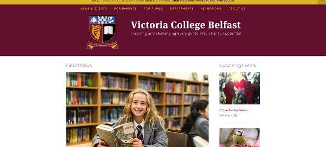 Screenshot of Victoria College, Belfast