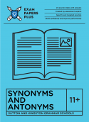 best 11+ Sutton & Kingston Synonyms and Antonyms exercises
