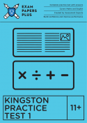 Kingston 11+ - Tiffin Practice Test 1