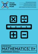 11+ Maths Statistics standard format pack