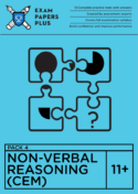 how to prepare for 11+ Non-Verbal Reasoning exams in the CEM format